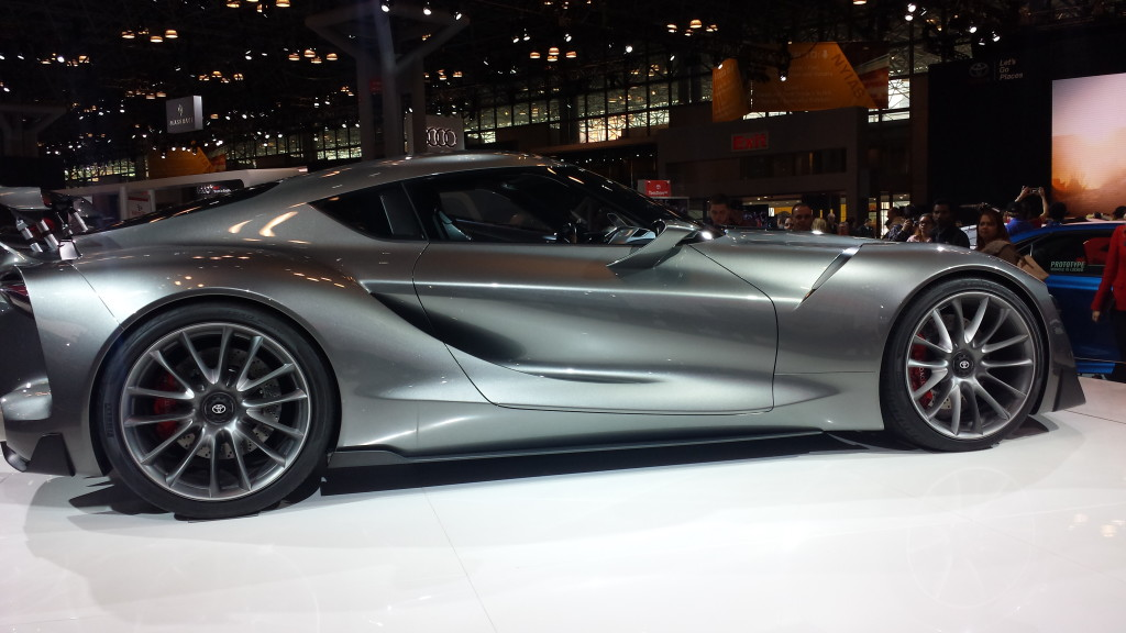 Toyota FT-1, successor to the Supra