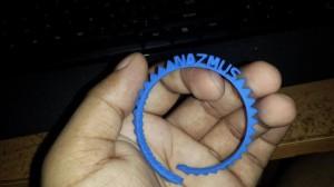 3D Printed Nazmus Bracelet